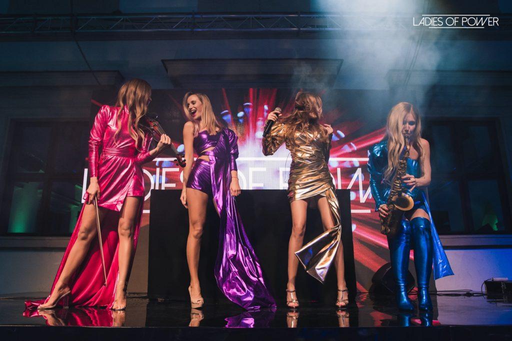 """Występ zespołu """"LADIES OF POWER"""" na evencie firmowym w Pałacu Ujazdowskim w Warszawie"""