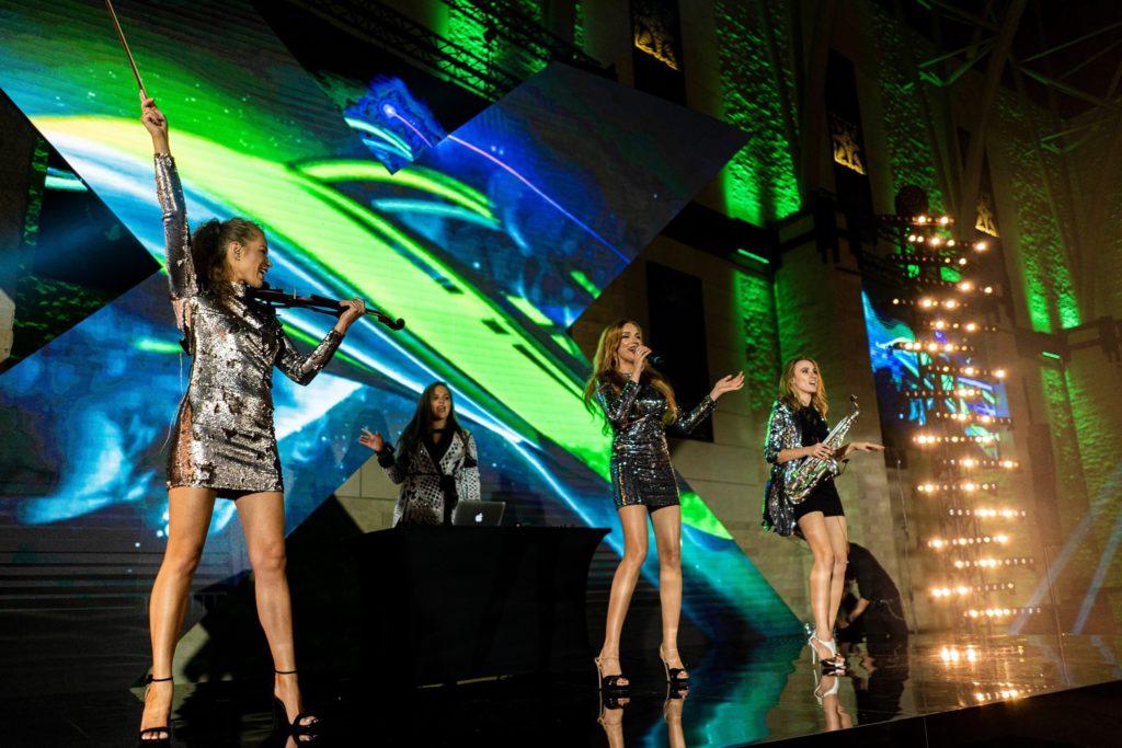 """Koncert zespołu """"Ladies Of Power"""" na evencie dla Kia Motors Polska w Hotelu Arłamów"""